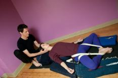 Yoga therapy provides the opportunity for one on one sessions that support your body and mind.